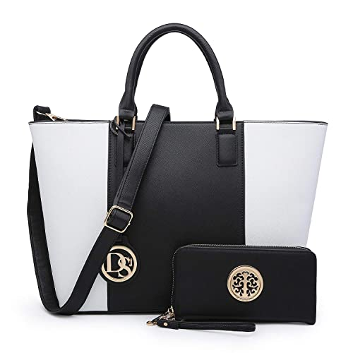 d2844758185 MMK collection Women Fashion Matching Satchel/ Tote handbags with  walle(6417)t~Designer Purse with Wristlet Wallet