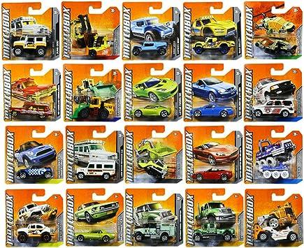 Matchbox Set Of Twenty Random Cars Models Amazon Co Uk Toys Games
