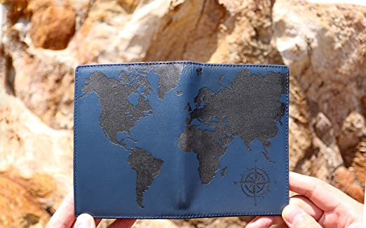 Reviews of the best travel wallets for men updated 2018 cool men lethnic leather passport holder cover case rfid blocking travel wallet world map gumiabroncs Image collections