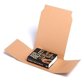 (x25) Estuches Libros, Envíos postales - Pack 25 unidades - Cartón | TELECAJAS