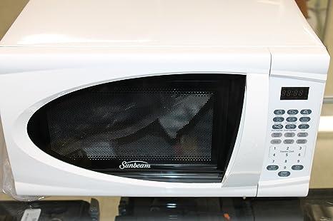 Amazon.com: Sunbeam Designed by Raleigh Horno de microondas ...