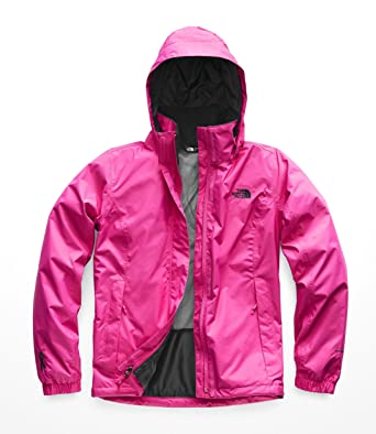 9a802d7551ef ... coupon code for the north face womens pink ribbon resolve jacket  raspberry rose tnf black xs