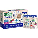 GoGo squeeZ yogurtZ, Variety Pack (Blueberry/Berry), 3 Ounce (60 Pouches), Low Fat Yogurt, Gluten Free, Pantry-friendly…