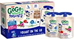 GoGo squeeZ yogurtZ, Variety Pack (Blueberry/Berry), 3 Ounce (60 Pouches), Low