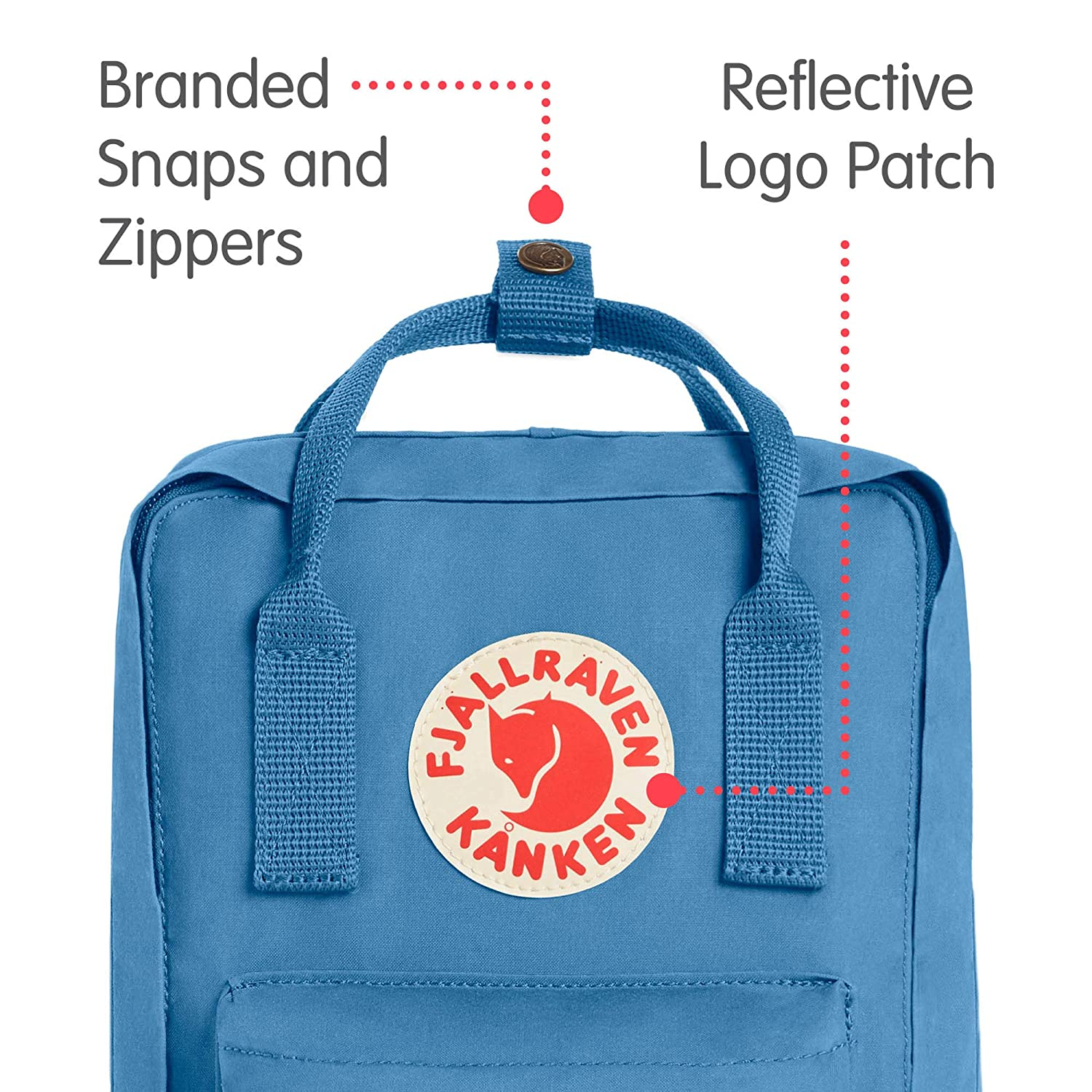 Fjallraven Kanken Mini Classic Pack Heritage And Backpack Royal Blue Pinstripe Pattern Responsibility Since 1960 Air One Size Sports Outdoors