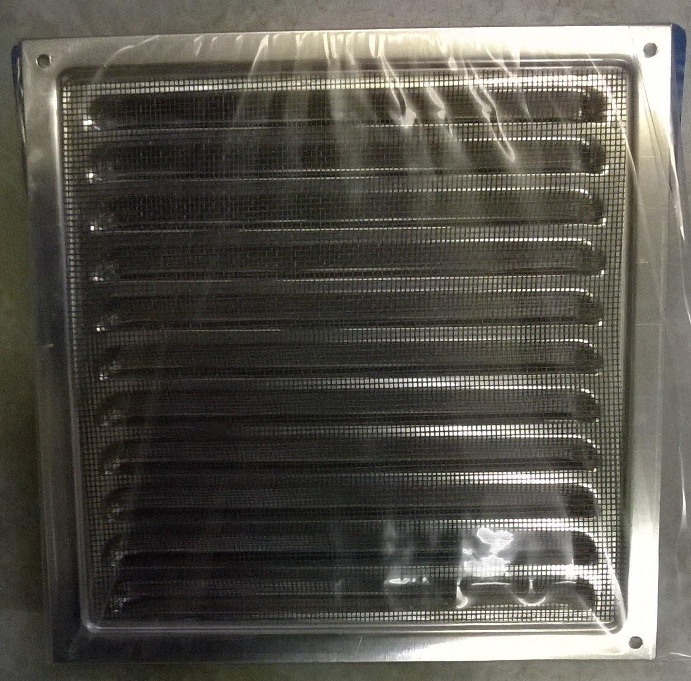 200 X 200 Mm Grille Daération En Aluminium Antirouille En Métal Avec Moustiquairebug Net