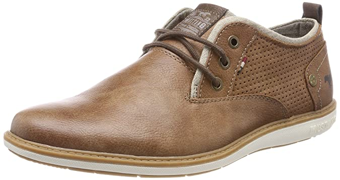 Mens 4111-303-307 Low-Top Sneakers, Brown (Cognac) Mustang