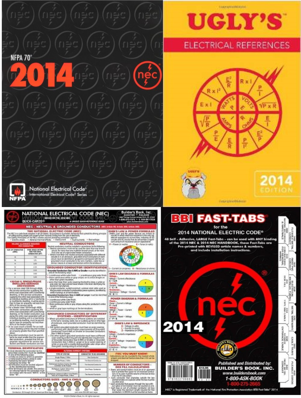 NFPA 70 : National Electrical Code (NEC), Paperback, 2014 Ed, Package