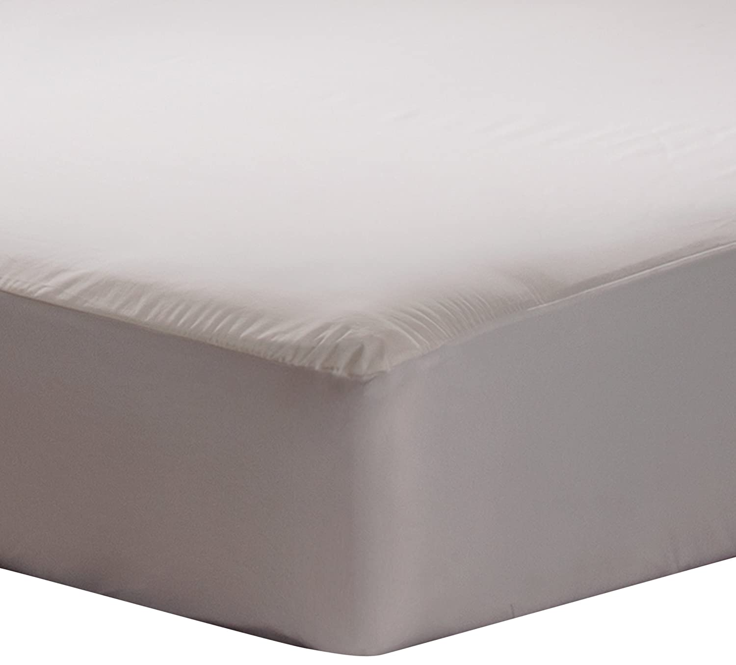 fitted mattress protector. Amazon.com: Sealy Stain Protection Fitted Mattress Protector: Home \u0026 Kitchen Protector H