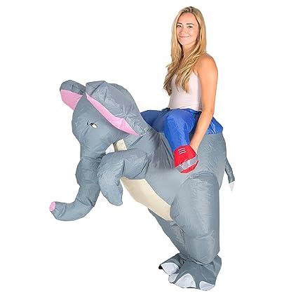 Bodysocks® Disfraz Hinchable De Elefante Adulto...
