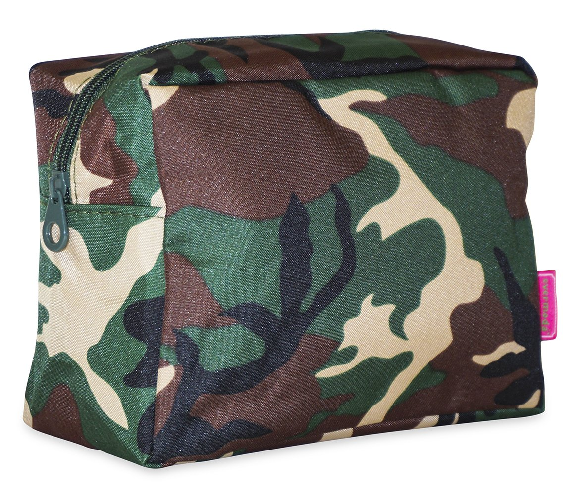 c3623dc3b04 Amazon.com   Ever Moda Camo Cosmetic Pouch   Beauty