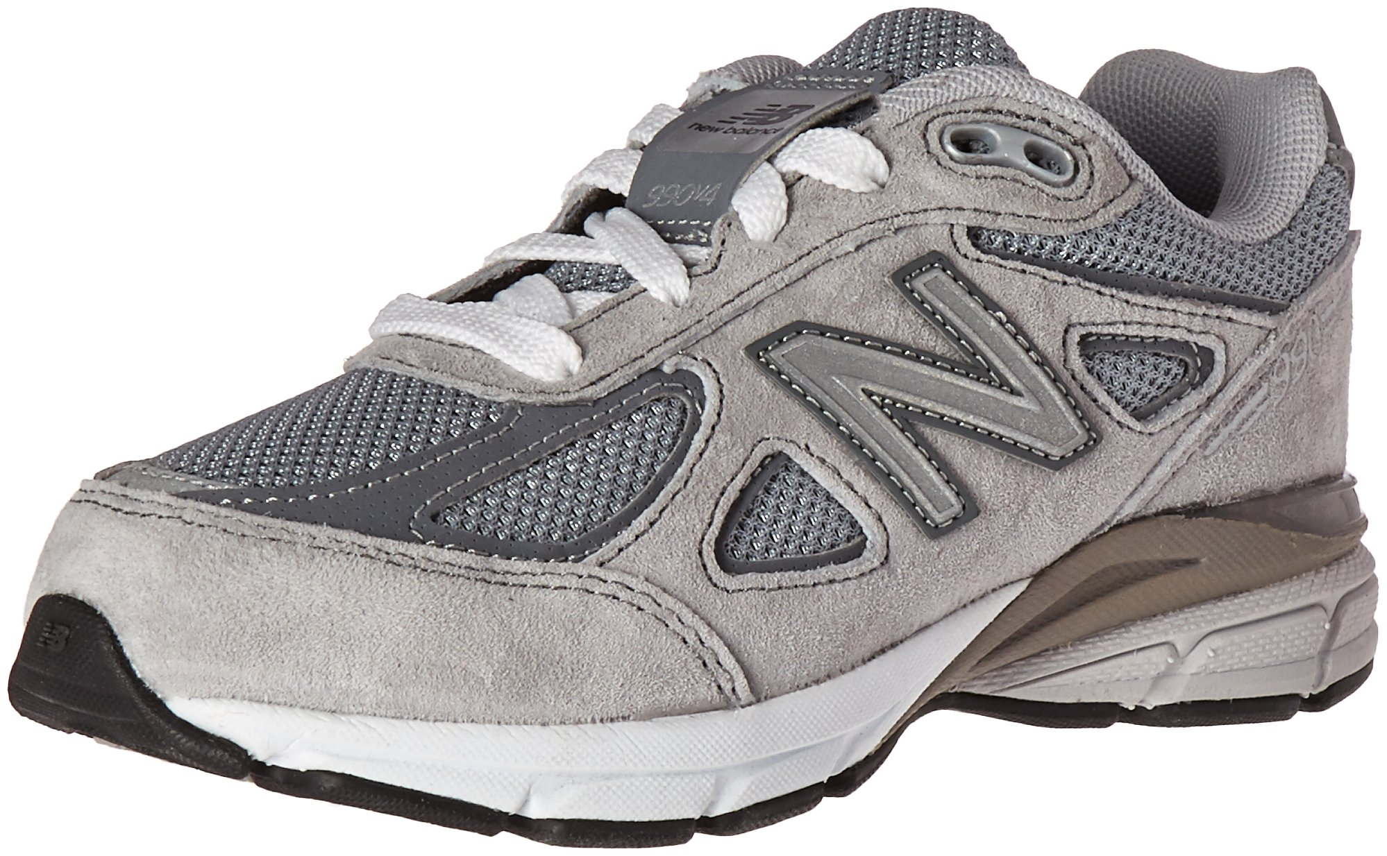 New Balance KJ990V4 Running Shoe (Little Kid/Big Kid), Grey/Grey, 1.5 M US Little Kid by New Balance (Image #1)