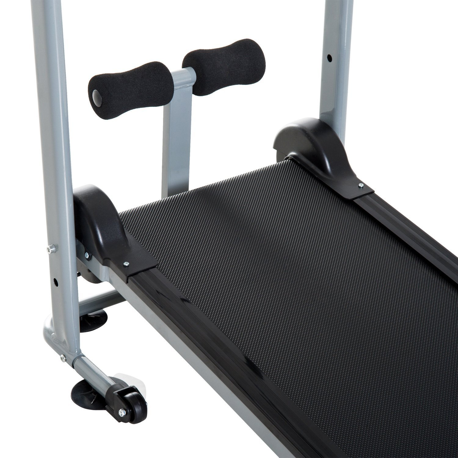 Soozier Folding 2-in-1 Manual Walking Incline Treadmill and Sit Up Exercise Machine by Soozier (Image #6)