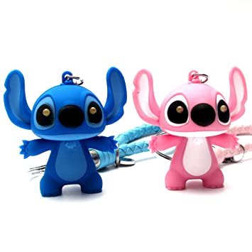 Fashion Alice 2pcs Lilo & Stitch Stitch, figura de acción de ...