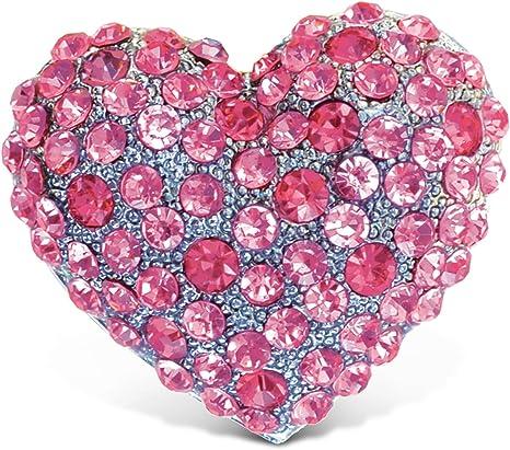 Pink Heart Love Magnet