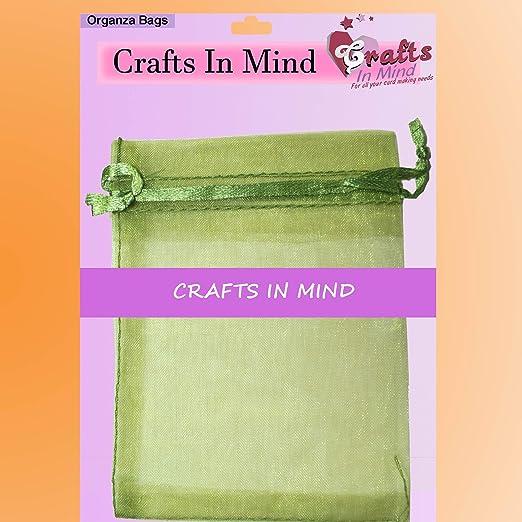 Bolsas de regalo de Organza por manualidades en mente | 9 x ...