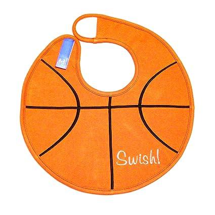 Amazon.com: Dibs On baberos de baloncesto bebé babero: Baby