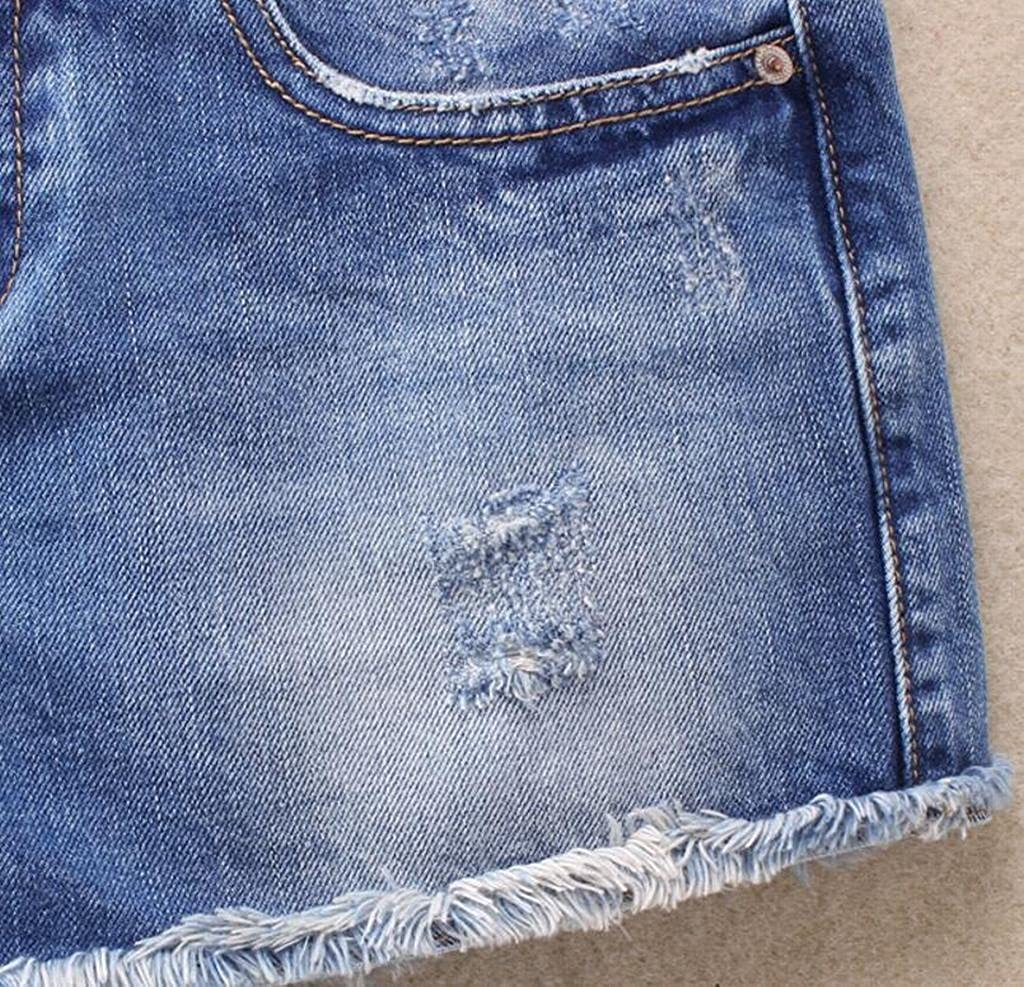 Jotebriyo Women UAS Flag Print Stretchy Denim Mid Rise Slim Cutoff Denim Shorts Jeans Hot Pants