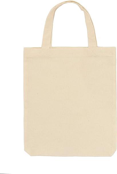POLHIM Bolsa de algodón, 28 x 32 cm, 25 Unidades, Bolsa de Yute ...