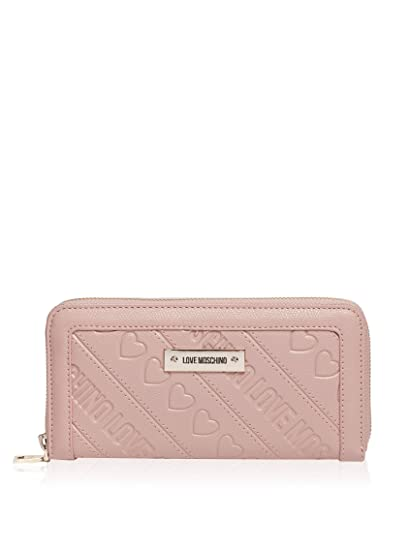 68a74d71c72 Love Moschino Continental Wallet - Pink  Amazon.co.uk  Clothing