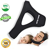 SimplySleep Anti Snoring Chin Strap Devices - Chin Straps - Stop Snoring Device - Anti Snore Chin Strap - Anti Snore Solution - Anti Snore Device - Anti Snoring Chin Strap for Men and Woman