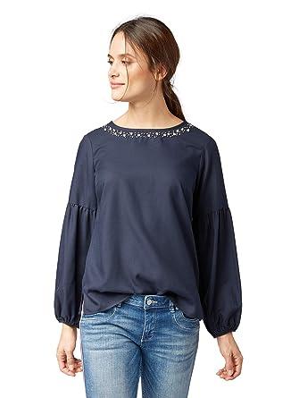 TOM TAILOR für Frauen Blusen, Shirts & Hemden Bluse mit