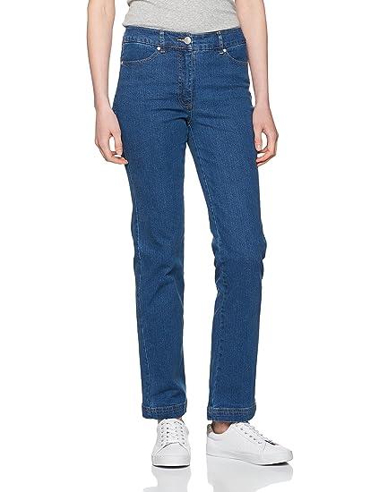 Womens Femme Perfect Fit Straight Jeans Damart WQemzcjq