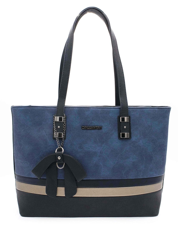 7c6c0e0917 HELLO BAG BY MODE & VOGUE Sac Cabas Femmes Shopping - Sac Cours Format A4  Etudiante