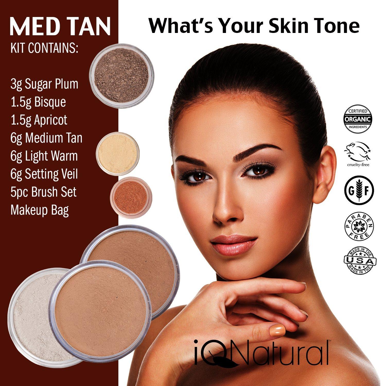 Amazon Iq Naturals Large Mineral Makeup Kit Concealer