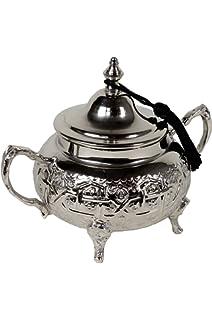 Orientalische Keramikdose Dosen aus Keramik Amra Grau 10cm Orient Vintage Vorratsdose Gew/ürzdose rund Geschirr orientalisch handbemalt farbige Marokkanische Minzdose Tee Kaffee Dose aus Marokko