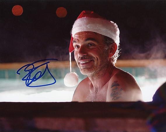 Billy Bob Thorntonbad Santa Autograph Signed 8x10 Photo At