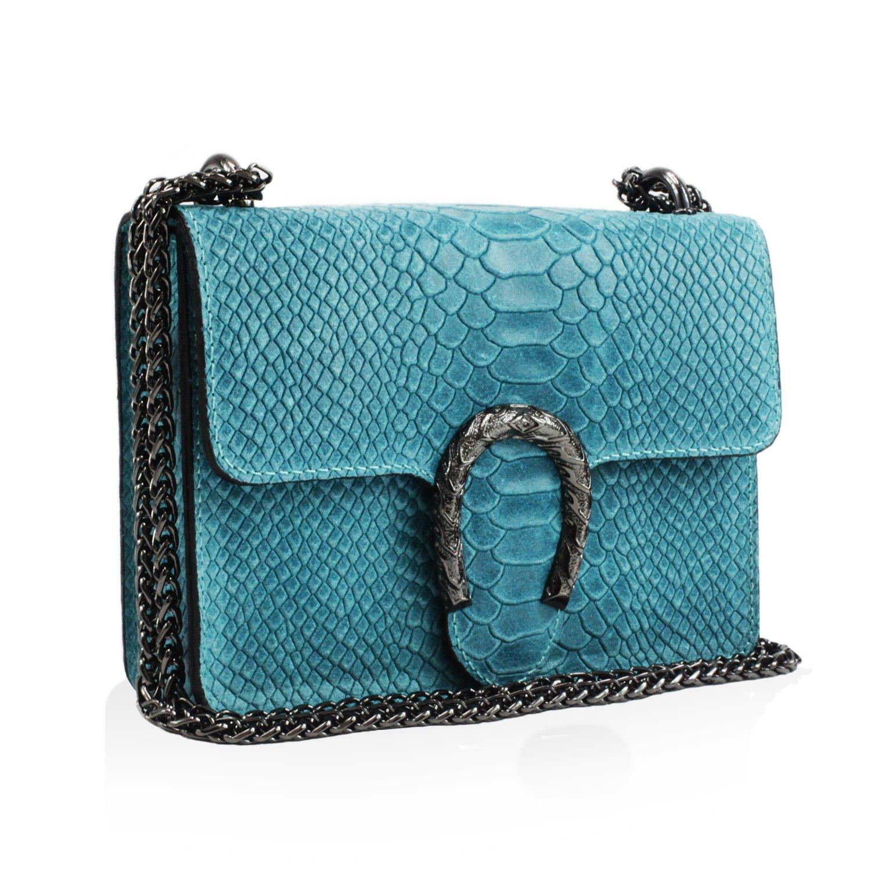 Glamexx24 Damen Clutch echt Leder Tasche Abendtasche mit Kette Handtasche Made in  B07D1RSVJZ Rucksackhandtaschen Modisch