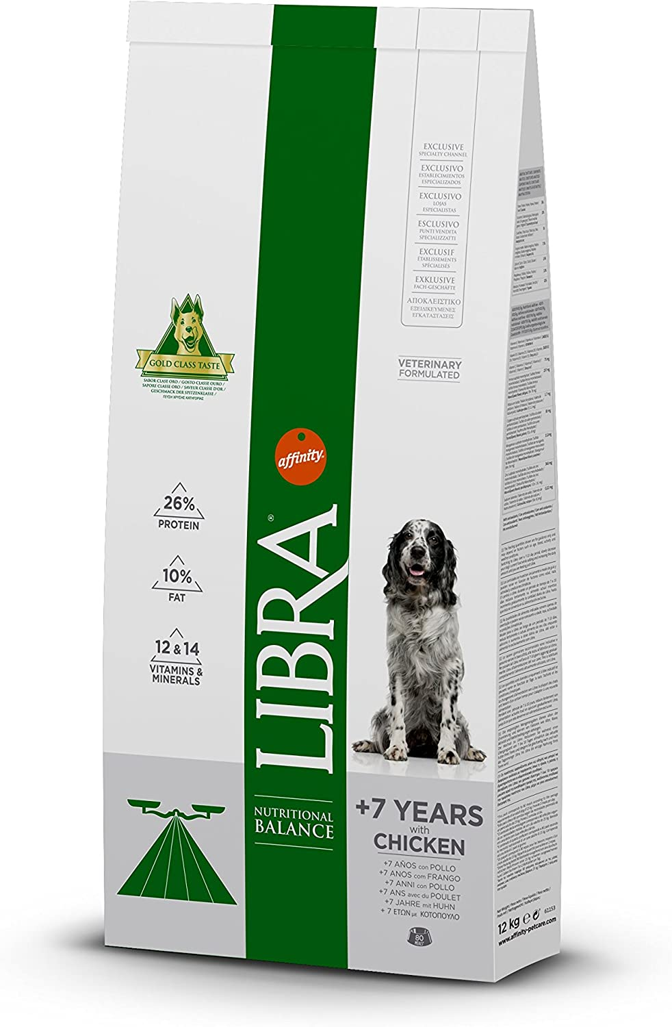 LIBRA Dog +7Years 12Kg (ML)