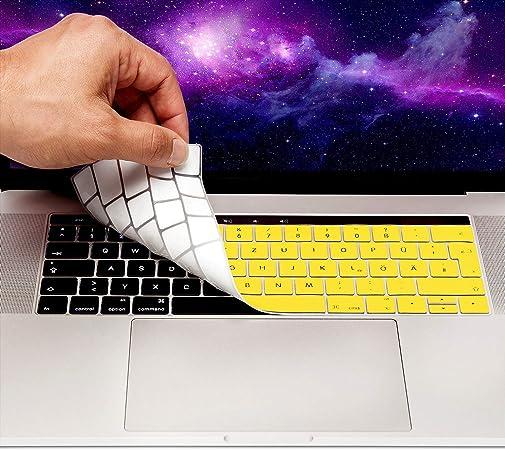 MyGadget Funda Teclado QWERTZ [Aleman] para Apple MacBook 13