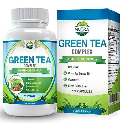 Extracto de Té Verde para dietas de adelgazar. Cápsulas de Té Verde 10000mg, 15
