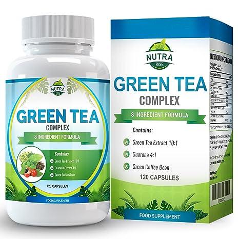 Extracto de Té Verde para dietas de adelgazar  Cápsulas de