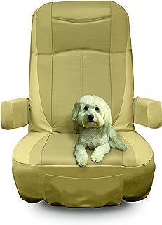 RV Designer C795 Motorhome Seat Cover GripFit Fits Most Seats Double Pack  sc 1 st  Amazon.com & Amazon.com: Classic Accessories Overdrive RV Captain Seat Cover ...