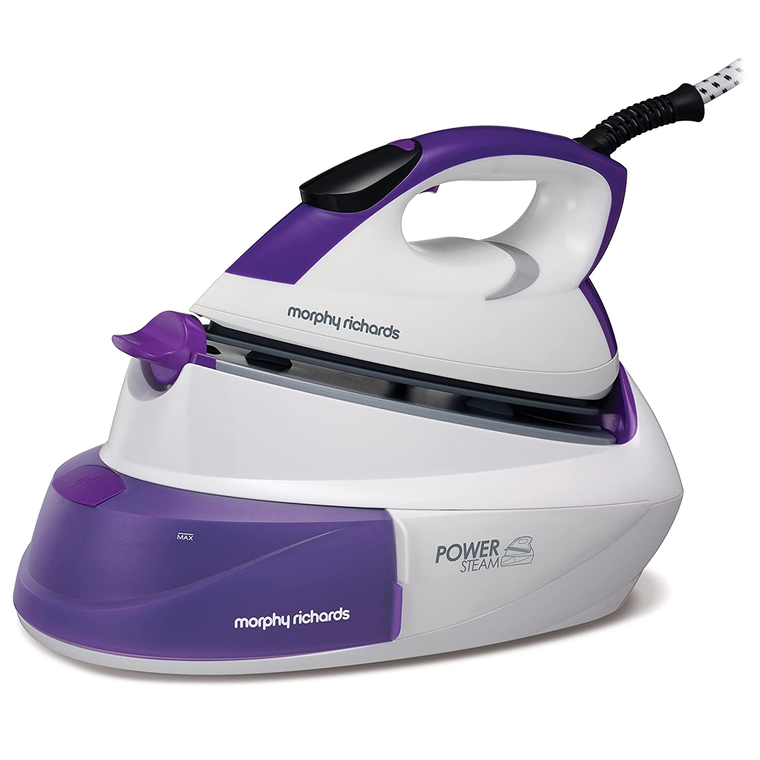 Morphy Richards Steam Generator Iron Power Steam Intellitemp 333000 Steam Generators Blue