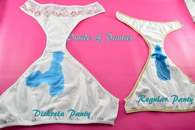 Diskreta menstruación Period Panties para Adolescentes Juniors, Desgaste Color Blanco Ropa Interior Blanco -: Amazon.es: Ropa y accesorios