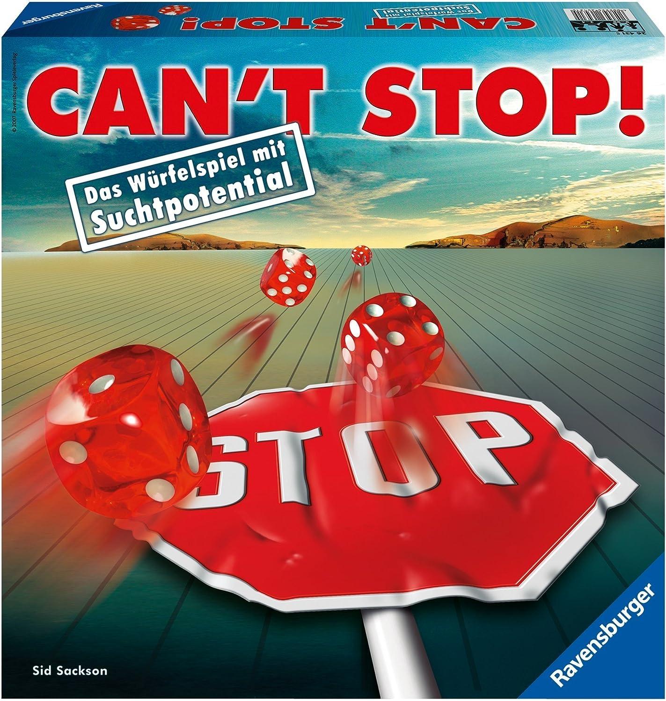 Ravensburger Spiel 26431 Cant Stop! - Juego de Dados [Importado ...
