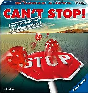Ravensburger Spiel 26431 Cant Stop! - Juego de Dados [Importado de Alemania]: unbekannt: Amazon.es: Juguetes y juegos