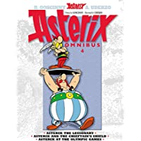 Omnibus 4: Asterix the Legionary, Asterix and the Chieftain's Shield, Asterix at the Olympic Games