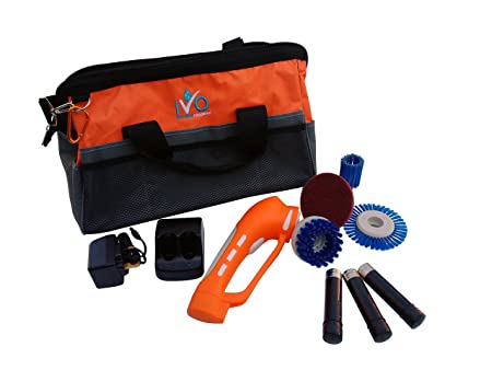 IVo Power Brush Standard Kit Cordless Battery Powered Scrubbing - Battery powered scrub brush