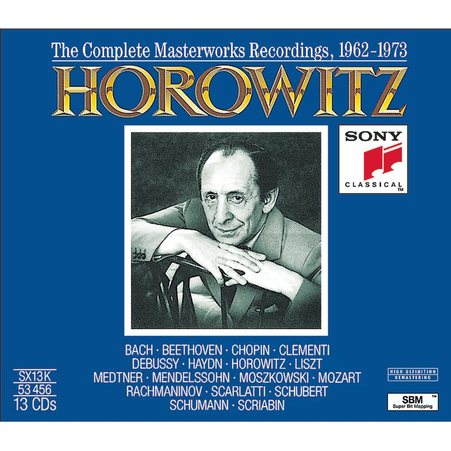Vladimir Horowitz: Complete Masterwork Recordings, 1962-1973 by Sony Classical