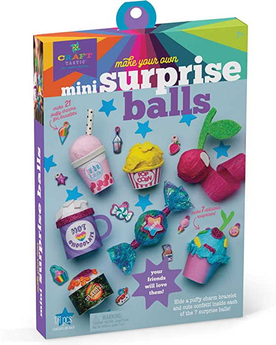 Craft-tastic - Make Your Own Mini Surprise Balls - Make, Decorate & Share 7 Tiny Food-Themed Surprise Balls