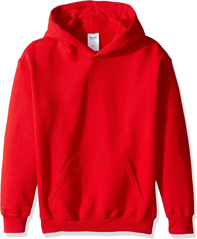 Gildan Kids' Hooded Youth Sweatshirt: Clothing