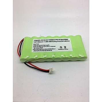 Batería para Panel de control de alarma Visonic PowerMax Pro 9,6 V 1800 mAh P/N 0 – 9912-G