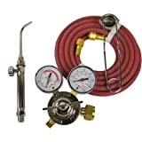 Silver Smith Acetylene Air Kit - B Tank Model 293-193 Jewelry Making Metal Annealing Brazing Soldering Torch Set