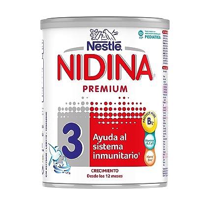 NESTLÉ NIDINA 3 - A partir de los 12 meses - Leche de crecimiento en polvo