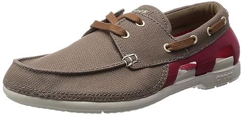 dcc9cb92285 Crocs Hombre Stringate Marrón Size  40 EU  Amazon.es  Zapatos y complementos